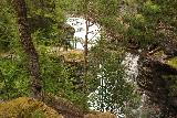 Romsdalen_137_07162019 - Trying to look through the foliage to gain a more contextual appreciation of the size and power of Slettafossen as well as some companion waterfalls