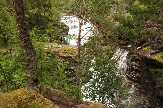 Romsdalen_137_07162019 - Contextual but partial look towards Slettafossen as I was descending towards the viewing areas beneath the bridge