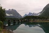 Romsdalen_287_07162019 - Looking back across the calm Rauma River towards Isterdalen