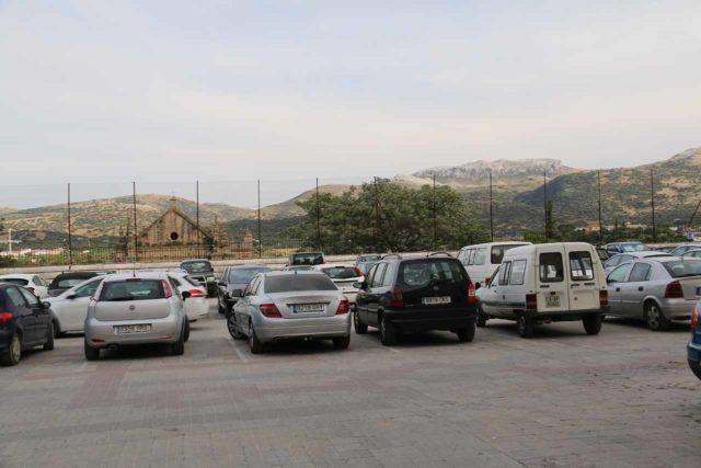 Ronda_003_05232015 - The public car park near the Plaza Duquesa in the Old Town of Ronda