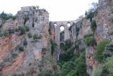 Ronda_188_05232015 - View of the Ronda Waterfall from further down in the Tajo Gorge
