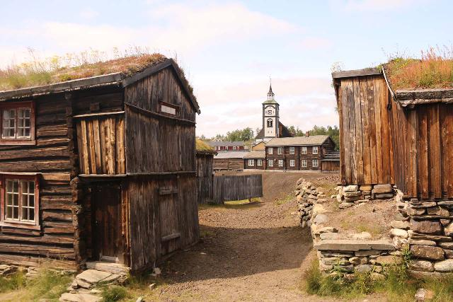 Roros_275_07142019 - In addition to the Olavsgruva, there were other charming and historical aspects to Røros that were worth experiencing, and we could totally see how this mining town became a UNESCO World Heritage site