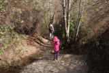 Rose_Valley_Apr_17_010_04022017 - Julie and Tahia going across the first of a couple of creek crossings en route to the Rose Valley Falls
