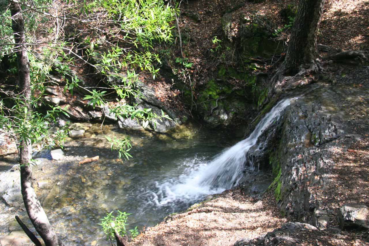 Small waterfall downstream of main falls