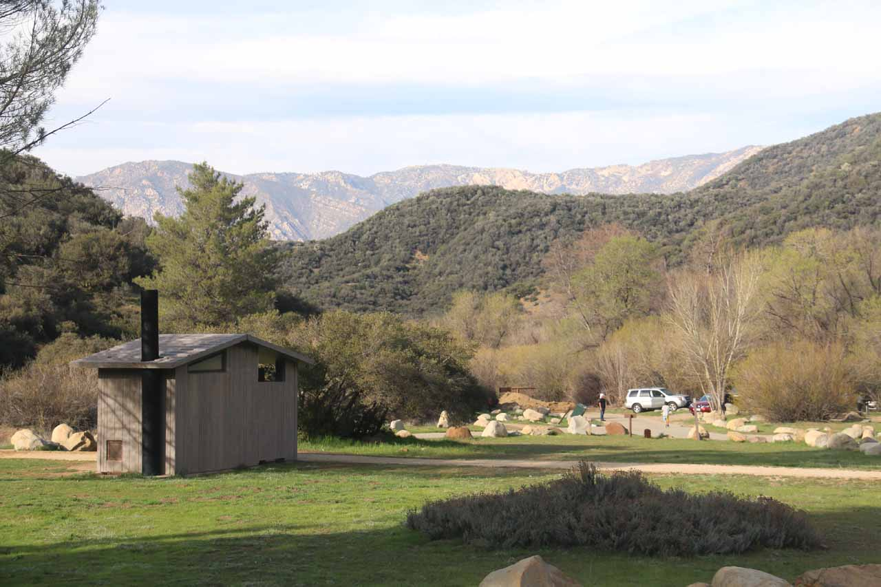 Back at the Rose Valley Campground