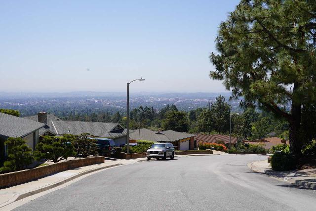 Rubio_Canyon_001_04142020 - Looking downhill towards the sweeping views of the Los Angeles basin along Rubio Vista Road