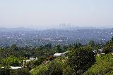 Rubio_Canyon_020_04142020 - Looking back over some homes fringing Rubio Canyon towards the buildings of downtown Los Angeles from the Mt Lowe Railway Trail