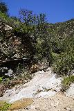 Rubio_Canyon_041_04142020 - Portrait look at the waterslide and water pipe as seen during the stream scramble up to the Rubio Canyon Falls