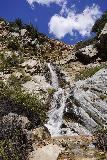 Rubio_Canyon_073_04142020 - Direct look at the Rubio Canyon Falls - Ribbon Rock Falls and Moss Grotto Falls