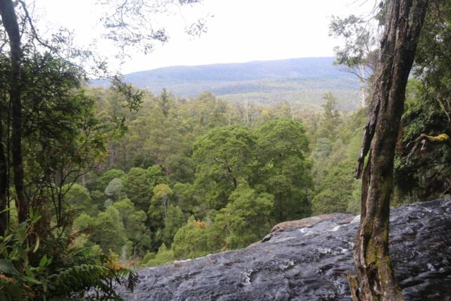 Russell_Falls_17_126_11272017 - Looking over the brink of Russell Falls during our late November 2017 visit