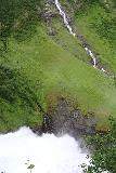 Rv63_Rv15_085_07192019 - Another contextual look at part of Øvstefossen with the unnamed waterfall beneath the Godtidsskaret Waterfall