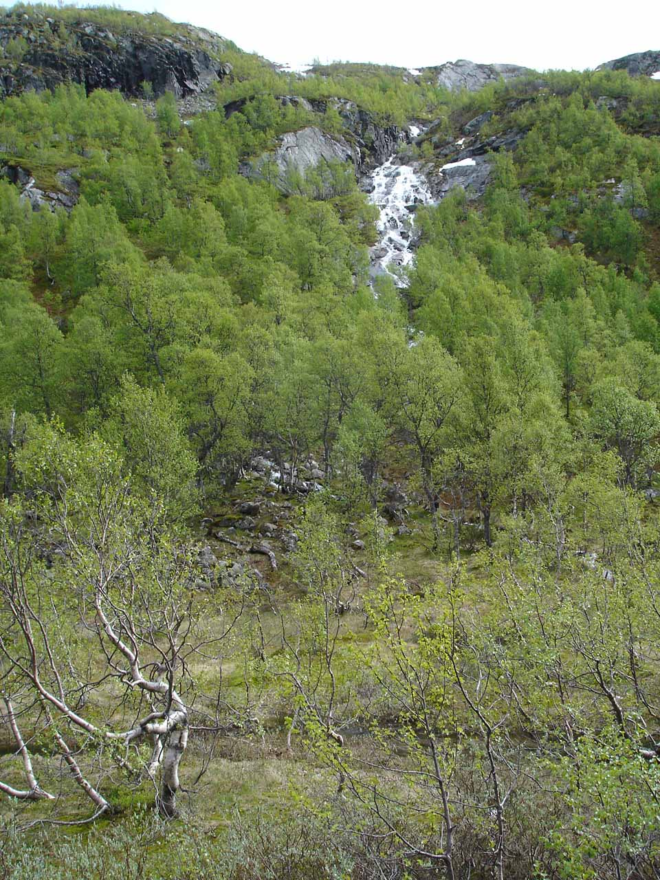 Some waterfall we saw as we were driving between Rjukan and Setesdal