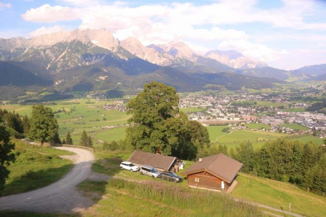 Saalfelden_Rodelbahn_070_07142018 - Something that we had a lot of fun with just north of Zell am See was the Saalfelden Rodelbahn, which yielded gorgeous views as well as a very thrilling tobagan run on a luge track