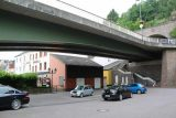 Saarburg_Waterfall_001_06182018 - This was the car park beneath a road bridge that we wound up starting our Saarburg Waterfall excursion from
