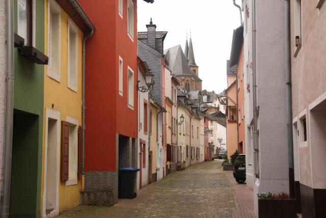Saarburg_Waterfall_006_06182018 - Walking through Staden in the lower extremes of Old Saarburg