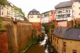 Saarburg_Waterfall_017_06182018 - Another look at the Saarburg Waterfall and the water canals and channels further downstream of it