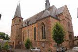 Saarburg_Waterfall_142_06182018 - Looking towards the backside of the Sankt Laurentius Church in Old Saarburg