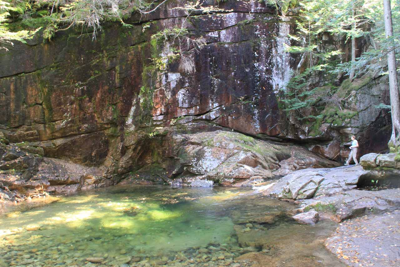 My first look at the aptly-named Emerald Pool