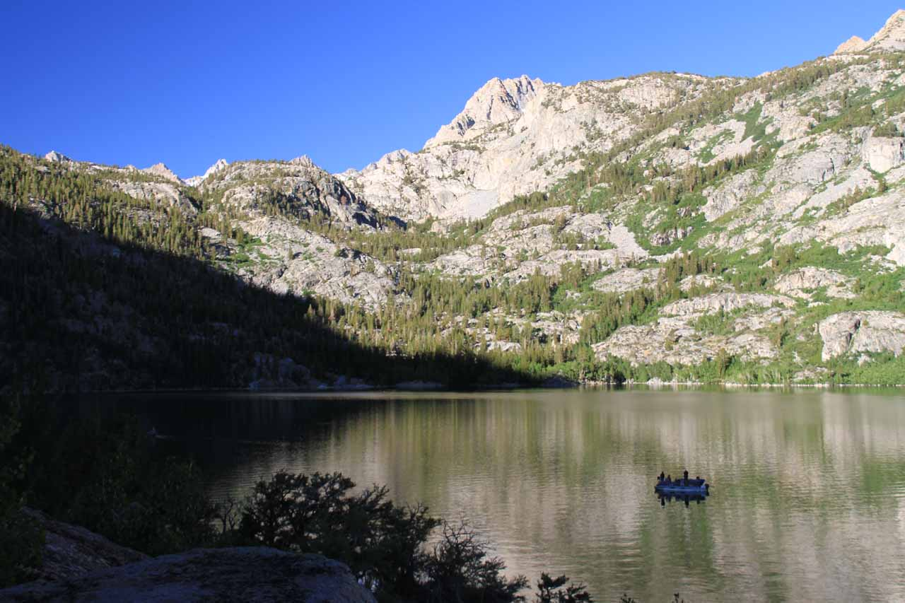 More views of Lake Sabrina