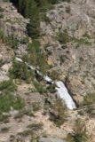 Sabrina_BP_074_08122011 - Looking down at the cascade spilling into Lake Sabrina