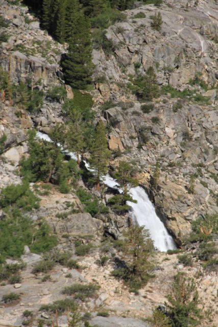 Sabrina_BP_074_08122011 - Looking back towards an attractive cascade near the head of Lake Sabrina