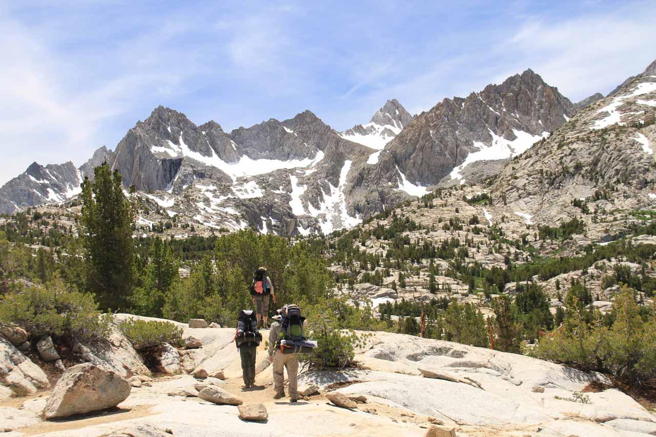 Scenic peaks abound