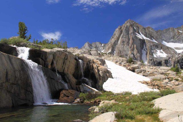 Sabrina_BP_299_08132011 - Moonlight Falls backed by granite peaks