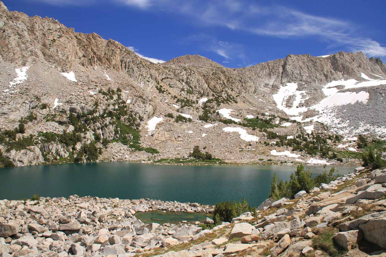 In case you're curious, this is Moonlight Lake, which is the source of Moonlight Falls