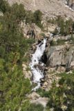 Sabrina_BP_393_08132011 - Closer look at the waterfall near the hidden trail to Topsy Turvy Lake