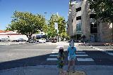 Sacramento_019_06292021 - Julie and Tahia walking towards Sutter's Fort in downtown Sacramento