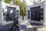 Sacramento_030_04102021 - Checking out the Vietnam War Memorial near the rose garden in Capitol Park in Sacramento