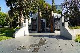 Sacramento_031_04102021 - Context of the Vietnam War Memorial near the rose garden in Capitol Park in Sacramento