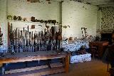Sacramento_085_06292021 - Lots of rifles in this room within Sutter's Fort in downtown Sacramento