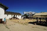 Sacramento_094_06292021 - Julie making her way around Sutter's Fort in downtown Sacramento