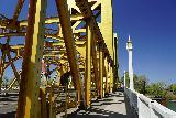 Sacramento_177_04102021 - Looking along the Golden Bridge over the Sacramento River as we were leaving Old Sacramento