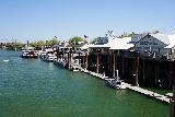 Sacramento_180_04102021 - Looking along the Sacramento River towards Old Sacramento from the Golden Bridge