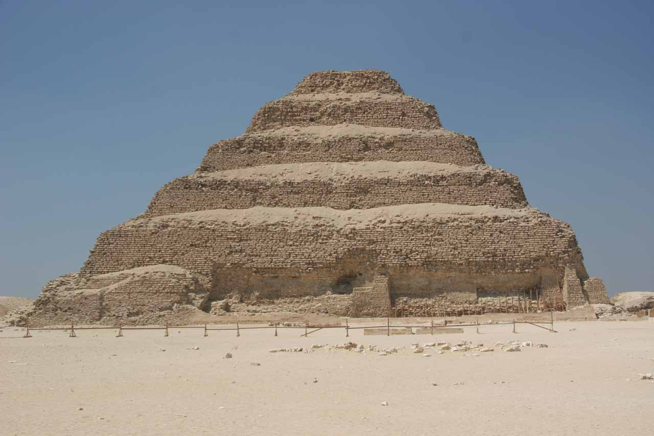 The stepped pyramid