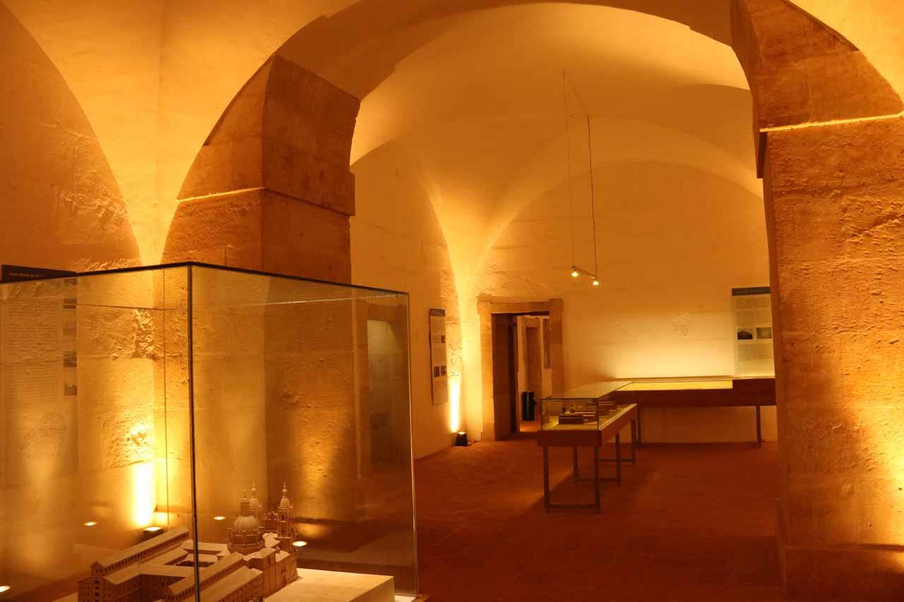 Inside the Scala Coeli