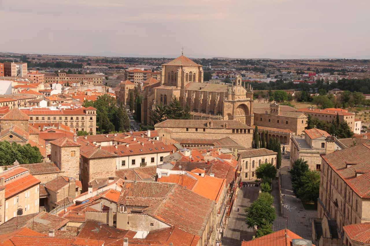 View looking towards the Convento de las Duenas I think from Scala Coeli