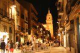 Salamanca_337_06072015 - Rua Mayor looking back towards the New Cathedral at night time