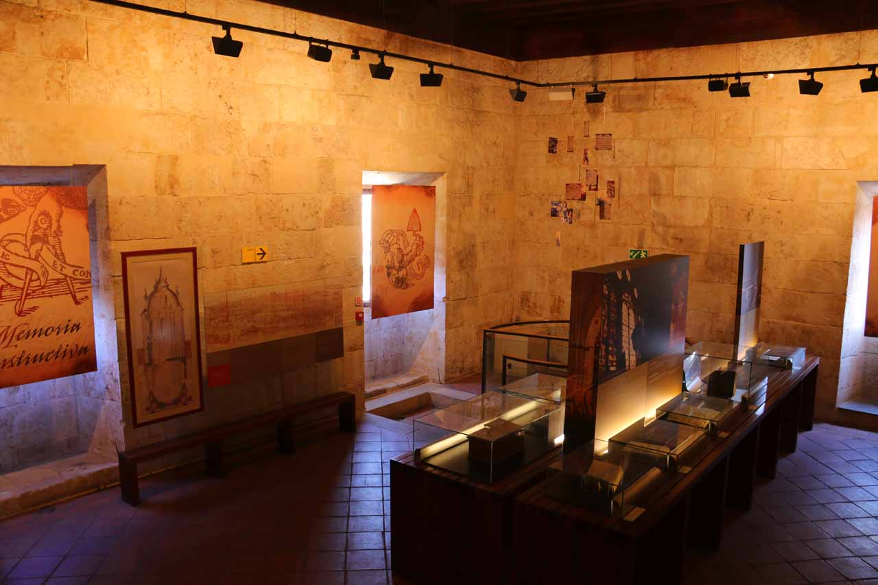 Some displays within Ieronimus