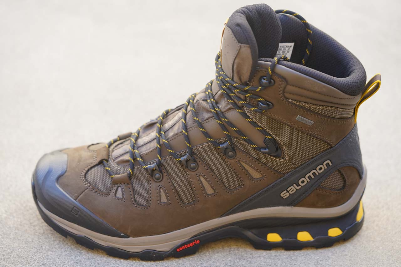 My new Salomon Quest 4D GTX Hi-top Hiking Boot
