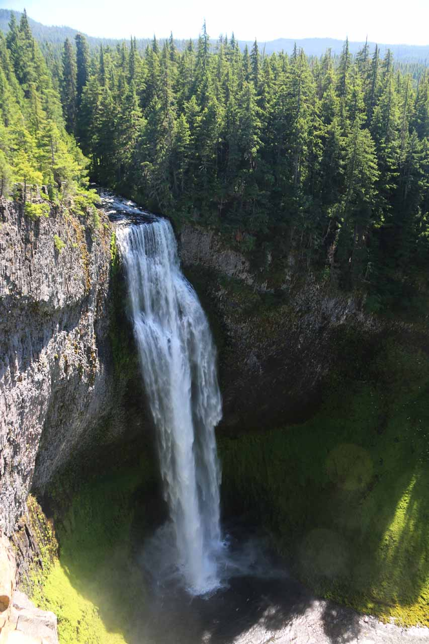 It was practically mandatory to visit the 286ft Salt Creek Falls upon a visit to Diamond Creek Falls, especially since they share the same parking lot