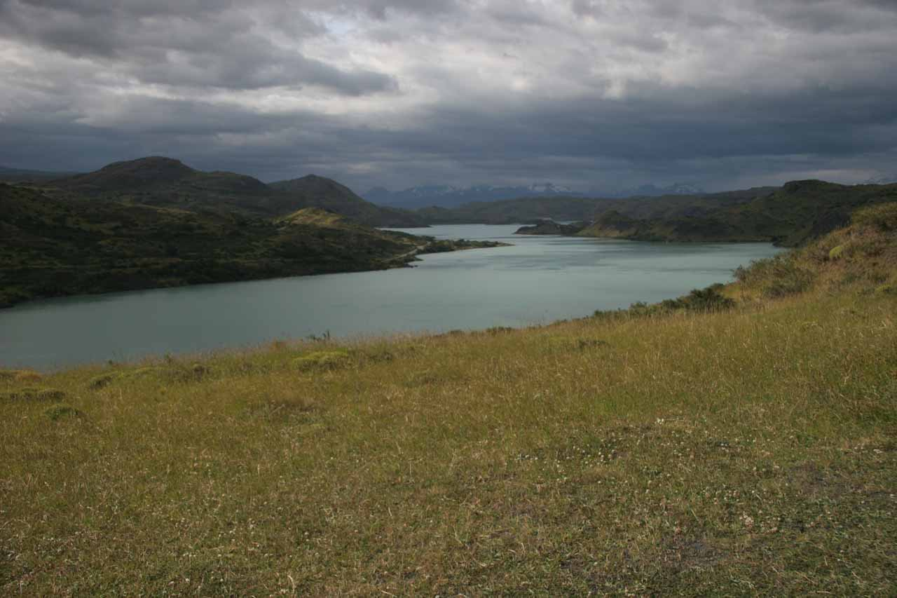 Looking towards Lago Pehoe from the Salto Grande Trail