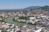 Salzburg_179_07022018 - Looking towards the Salzach River and the city of Salzburg from the Festung Hohensalzburg