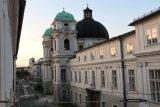 Salzburg_660_07042018 - Last look towards the Dreifaltigkeitskirche as we were unwinding for our last night in Salzburg