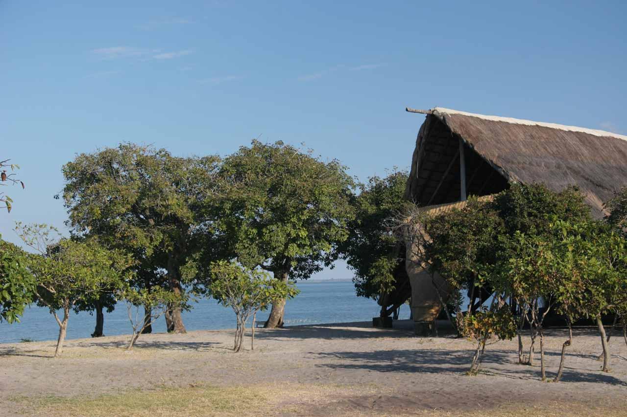 Another look at Lake Bangweulu and lodge bandas