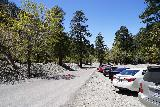 San_Antonio_Falls_001_05082020 - Parked along the uphill side of Mt Baldy Road since they closed off the downhill side of the divided road due to tree cutting activities to take advantage of the lack of traffic due to COVID-19 during our May 2020 visit. That said, you can see there were still quite a few cars here