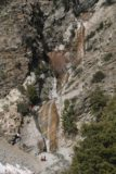 San_Antonio_Falls_032_02072015 - A mostly snow-free look at San Antonio Falls from the overlook in February 2015. Notice the scale of the falls as evidenced by the group of people at the base of the falls as well as the abseilers climbing up besides it