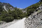 San_Antonio_Falls_049_05082020 - Context of Falls Road continuing through the rockslide or landslide-prone part of the San Antonio Falls hike during our May 2020 visit